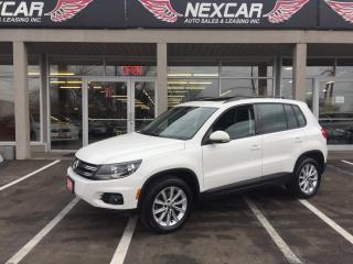 Used 2015 Volkswagen Tiguan 2.0TSI COMFORTLINE AUT0 FWD LEATHER PANO/ROOF 71K for sale in North York, ON
