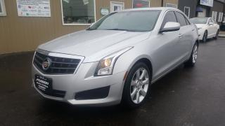 Used 2014 Cadillac ATS 2.0L TURBO-SUNROOF-FACTORY WARRANTY-HEATED LEATHER for sale in Tilbury, ON