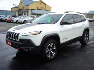 Used 2015 Jeep Cherokee Trailhawk 4X4 for sale in Brantford, ON