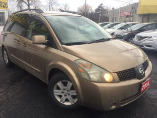 Used 2004 Nissan Quest SL / Leather / 7-Pass / Alloys / DVD / Loaded for sale in Scarborough, ON