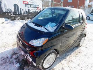 Used 2013 Smart fortwo PURE A/C for sale in Lemoyne, QC
