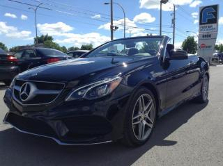 Used 2015 Mercedes-Benz E-Class Classe E 400 CONVERTIBLE for sale in Montréal, QC
