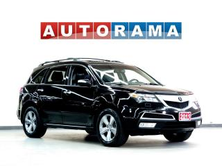 Used 2011 Acura MDX TECH PKG NAVIGATION LEATHER SUNROOF 4WD 7 PASS for sale in North York, ON