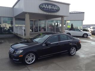 Used 2013 Mercedes-Benz C-Class AWD / 3.5 L / NO PAYMENTS FOR 6 MONTHS !!! for sale in Tilbury, ON