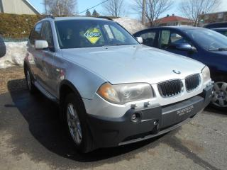 Used 2005 BMW X3 for sale in Sorel-Tracy, QC