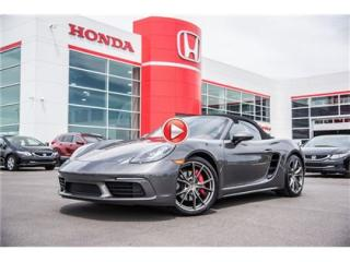 Used 2017 Porsche Boxster 718 S for sale in Terrebonne, QC