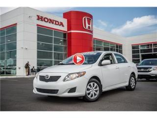 Used 2010 Toyota Corolla CE for sale in Terrebonne, QC