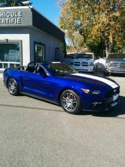 Used 2016 Ford Mustang EcoBoost DECAPOTABLE CONVERTIBLE PREMIUM for sale in Le gardeur, QC