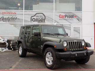 Used 2007 Jeep Wrangler TOIT RIGIDE A/C X for sale in Quebec, QC