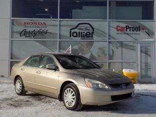 Used 2004 Honda Accord for sale in Quebec, QC