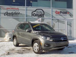 Used 2014 Volkswagen Tiguan for sale in Quebec, QC