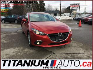 Used 2015 Mazda MAZDA3 GS+GPS+Camera+Sunroof+Heated Seats+Fog Lights+SKY+ for sale in London, ON