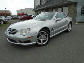 Used 2005 Mercedes-Benz SL-Class Sl500 Carproof Clean for sale in Mirabel, QC