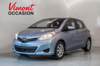 Used 2013 Toyota Yaris Hb+le+a/c+gr Elec for sale in Laval, QC