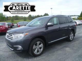Used 2013 Toyota Highlander Sport Awd Cuir+toit for sale in East broughton, QC