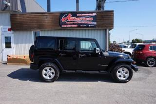 Used 2015 Jeep Wrangler Sahara Awd for sale in Levis, QC