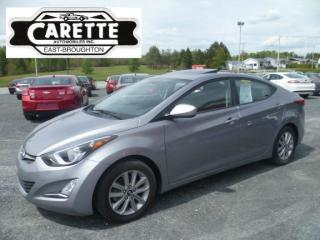 Used 2016 Hyundai Elantra Se sport toit ouvrant for sale in East broughton, QC