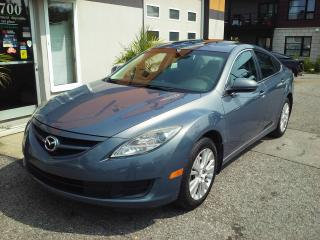 Used 2010 Mazda MAZDA6 GS 4 cyl mags toit ouvrant inspecté et g for sale in St-Charles-Borromée, QC
