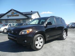 Used 2007 Toyota RAV4 4 portes, 4 roues motrices V6 Sport for sale in Westbury, QC
