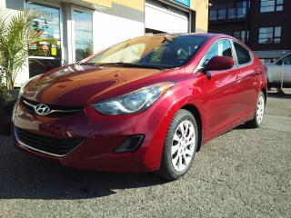 Used 2011 Hyundai Elantra GL 5 vitesses berline inspecté et garant for sale in St-Charles-Borromée, QC