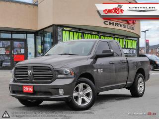 Used 2016 RAM 1500 Sport NAVI LEATHER H-TED COOLED SEATS 4X4 for sale in Scarborough, ON