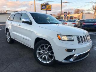 Used 2014 Jeep Grand Cherokee Summit for sale in Quebec, QC