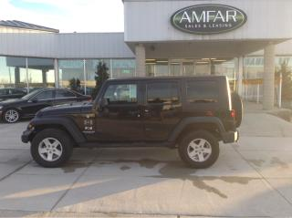 Used 2009 Jeep Wrangler AUTO / 2 TOPS / NO PAYMENTS FOR 6 MONTHS !!!! for sale in Tilbury, ON