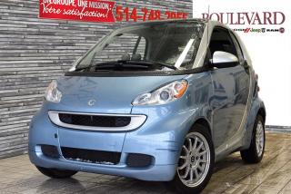 Used 2011 Smart fortwo PASSION for sale in Saint-laurent, QC