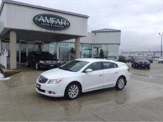 Used 2013 Buick LaCrosse Luxury / LEATHER / NO PAYMENTS FOR 6 MONTHS for sale in Tilbury, ON