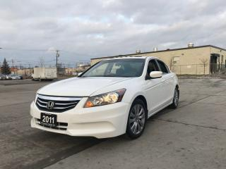 Used 2011 Honda Accord Only 94000 km, Sunroof, 4 door, Certify, automatic for sale in North York, ON