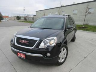 Used 2008 GMC Acadia AWD, 7 Passanger, Automatic, 3/Y warranty availabl for sale in North York, ON