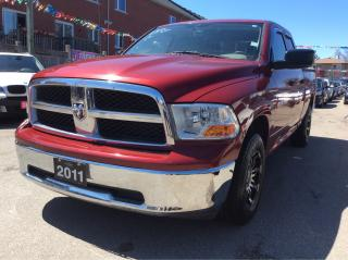 Used 2011 Dodge Ram 1500 ONLY 139Kw/Remote Starter/4x4/No Accidents/MINT for sale in Scarborough, ON