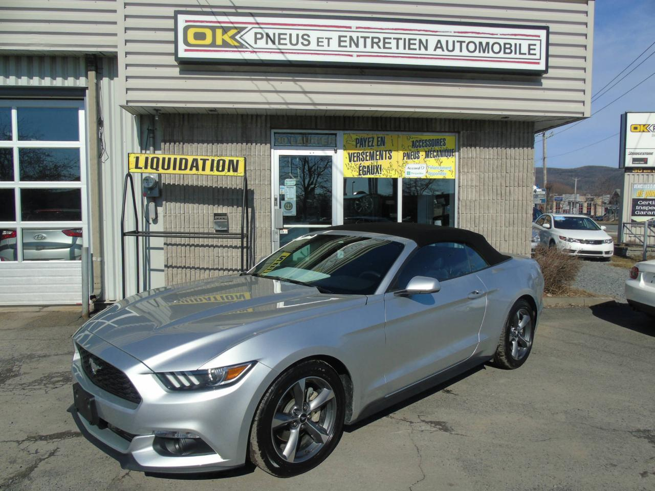 Used 2015 Ford Mustang Convertible For Sale In Beloeil Quebec
