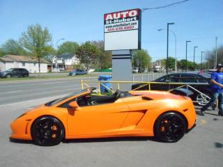 Used 2010 Lamborghini Gallardo Spyder for sale in St-Hubert, QC