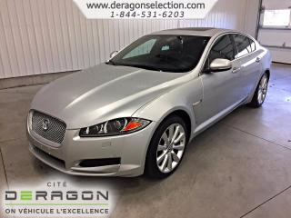 Used 2013 Jaguar XF Premium Pack + Nav for sale in Cowansville, QC
