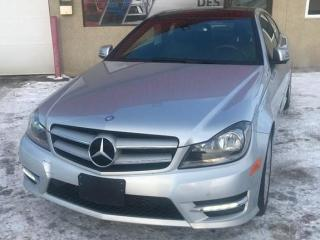 Used 2013 Mercedes-Benz C-Class C250 COUPE, CUIR for sale in Mirabel, QC