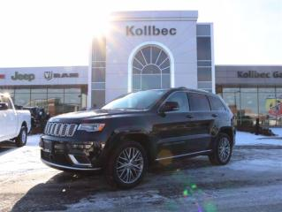 Used 2017 Jeep Grand Cherokee Summit for sale in Gatineau, QC