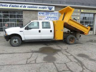 Used 2002 Ford F-450 crew cab boite dompeur for sale in Terrebonne, QC