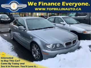 Used 2004 BMW 330i Ci 6 Speed, SUNROOF, 197K km for sale in Concord, ON