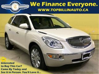 Used 2010 Buick Enclave CXL AWD, SUNROOF, LEATHER, NAVIGATION for sale in Concord, ON