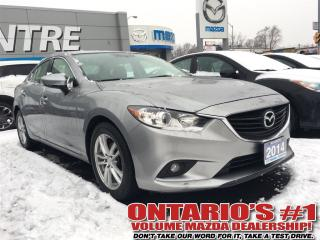 Used 2014 Mazda MAZDA6 GSL, LEATHER, SUNROOF, NAV, REVERSE CAM-TORONTO for sale in North York, ON
