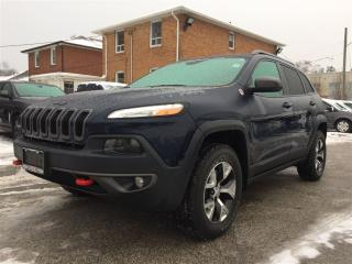 Used 2016 Jeep Cherokee Trailhawk**NAV**TOW GRP**HTD SEATS/WHEEL** for sale in Mississauga, ON