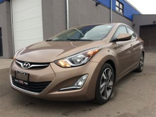 Used 2015 Hyundai Elantra GLS**ROOF**BACK-UP CAM**ALLOYS** for sale in Mississauga, ON