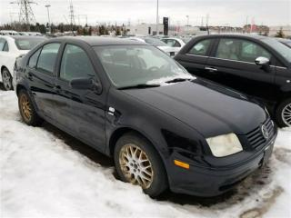 Used 2003 Volkswagen Jetta Wolfsburg Edition   Manual for sale in Whitby, ON