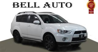 Used 2013 Mitsubishi Outlander NAVI BACKUP CAM REMOTE START SUNROOF for sale in North York, ON