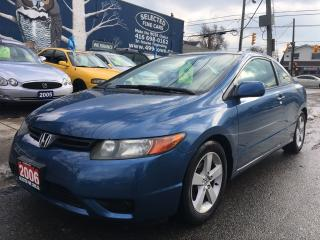 Used 2006 Honda Civic Cpe LX for sale in Scarborough, ON