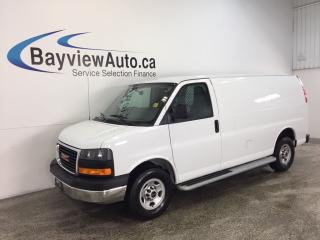 Used 2016 GMC G2500 - 4.8L! A/C! CRUISE! UNDER 13,000 KM! for sale in Belleville, ON