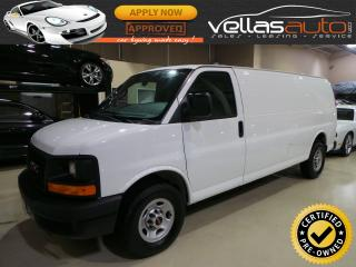 Used 2016 GMC Savana 2500 EXTENDED| 3/4 TON CARGO| 155WB for sale in Woodbridge, ON