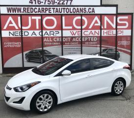 Used 2015 Hyundai Elantra GL-ALL CREDIT ACCEPTED for sale in Scarborough, ON