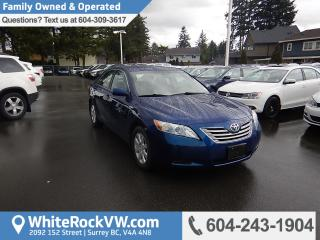 Used 2007 Toyota Camry HYBRID Base Family Owned, Radio Data System, Steering Wheel Mounted Audio Controls for sale in Surrey, BC